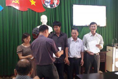 Lễ công bố và trao các quyết định bổ nhiệm các chức danh lãnh đạo tổ