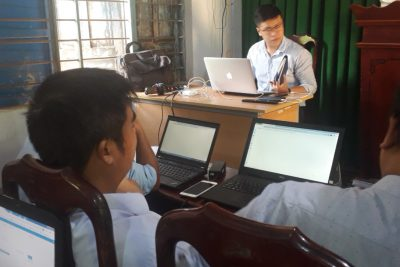 Trường THCS EATUL tổ chức tập huấn E-Office